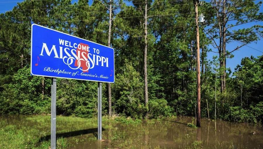 Mississippi river gambling boat