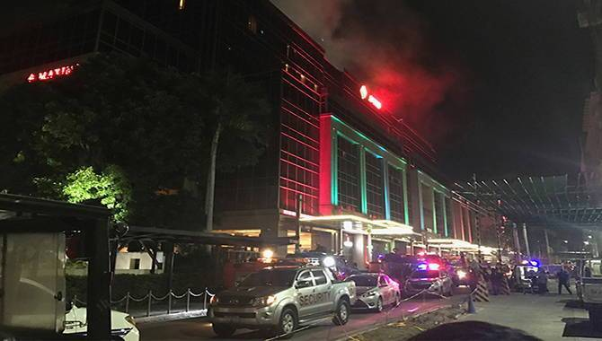 Dozens suffocate in Philippine casino after gunman torches tables