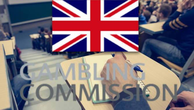 Gambling commission licence number