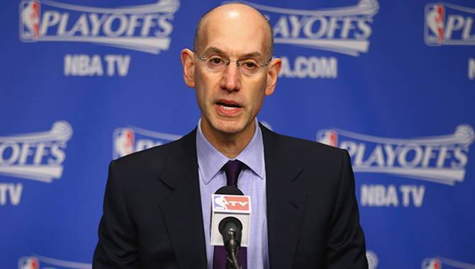 National Basketball Association commissioner Adam Silver says sports betting will be legalized