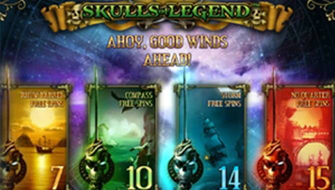 Set Sail With The New iSoftBet Skulls of Legend Slot