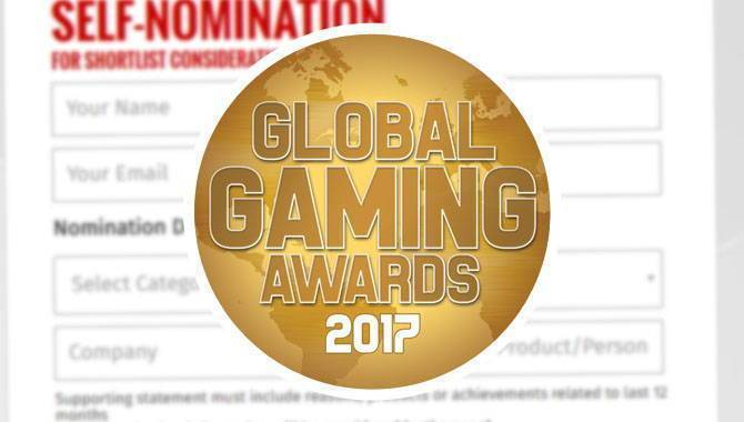 Global Gaming Awards: Self-nominations are officially open